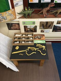 Dinosaur Dig. Dinosaur Museum. Role Play.