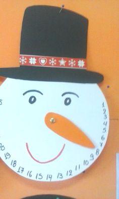 Το ημερολόγιο των Χριστουγέννων.. Christmas Mood, Christmas Crafts, Christmas Decorations, Spirit, Create, Christmas, Christmas Decor, Christmas Tables, Christmas Jewelry