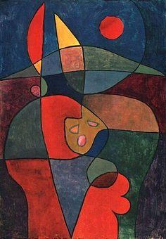 Paul Klee, Bauerngarten in Person, 1933