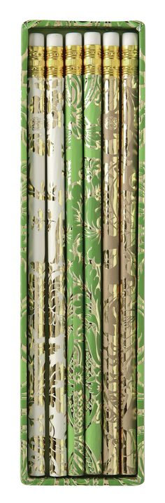 Green Solid Pencil Set - Stationery