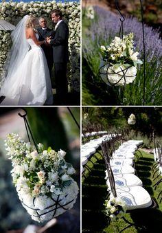 Elegant Black & White Wedding From Fleurs de France | Style Me Pretty