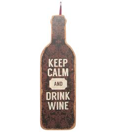 Bordeaux Collection Wooden Wine Bottle Wall Decor at Joann.com