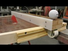 Homemade table saw and fence - YouTube