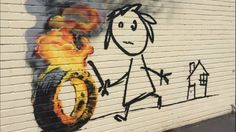 """Advice for school kids from Banksy: """"it's always easier to get forgiveness than permission"""""""
