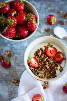 5 lunsjforslag til neste uke - Ida Gran Jansen Breakfast Bowls, Croissant, Granola, Acai Bowl, Cereal, Oatmeal, Deserts, Food, Acre