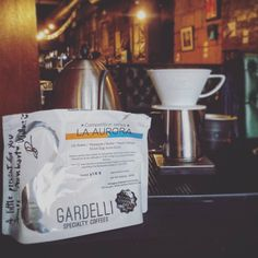 Our first filter offering at @broadcastglasgow from @gardellicoffees is now dialled in and ready.  A natural Gesha from Panama tasting tropical and elegant. A truly beautiful coffee.  Only 11 brews available and 4 have already been reserved. Best get in quick.