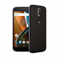 Motorola Moto G4  Play (16GB) - Frente e Verso  Os 10 smartphones mais procurados pelos brasileiros em Outubro de 2016