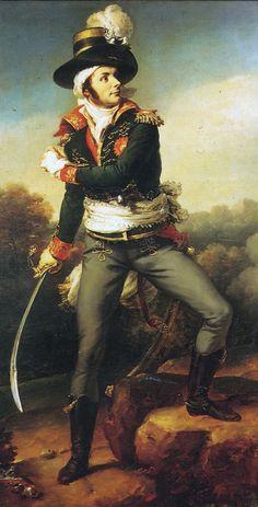 Portrait ofFrançois-Athanase de Charette de La Contrie byJean-Baptiste Paulin Guérin, 1816.