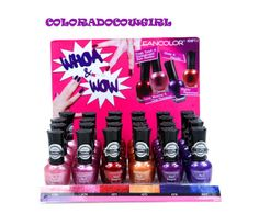 'Bonus 6 KleanColor Whoa & Wow Nail Laquer (Matte&Metall' is going up for auction at  7am Wed, Nov 6 with a starting bid of $5.