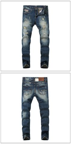 6c2a5bf597b 2017 New Fashion Mens Jeans Drawstring Slim Fit Denim Mens Jeans Pant  Stretch Pencil Pants Casual Size M-5XL