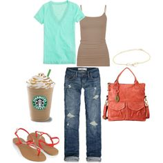 Cute outfit for summer :-)