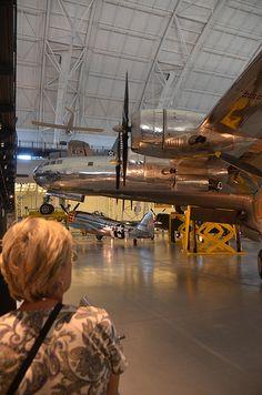 "Steven F. Udvar-Hazy Center: B-29 Superfortress ""Enola Gay"" panorama - http://southafricanexperience.com/steven-f-udvar-hazy-center-b-29-superfortress-enola-gay-panorama/"
