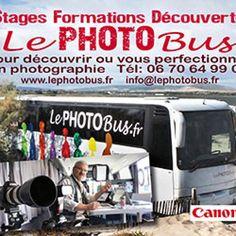 Bon plan à Montpellier : 25% de remise sur les formations photos Le photobus! Un concept de bus unique!