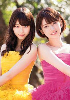"""46pic: """" Nanase Nishino × Nanami Hashimoto - YM """""""