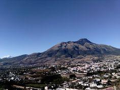 Volcán Imbabura desde Los Soles