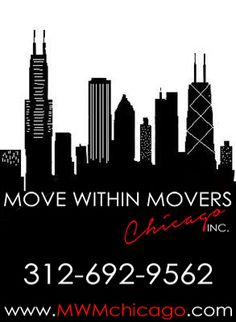 We just LOVE moving in downtown Chicago! 312-692-9562 www.MWMchicago.com