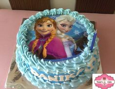 Image result for frozen cake edible image