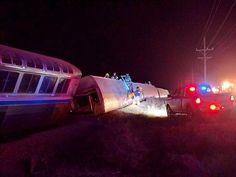 Derailed Amtrak Toward Chicago Hurts 32 | 코리일보 | CoreeILBO