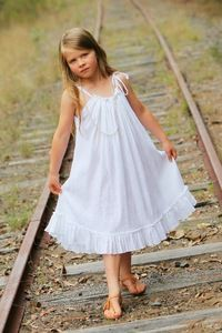 White Blossom Dress