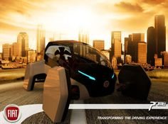 2025 Fiat Prime City Car by Joshua Shercliff  The Fiat Prime 2025 city car is a look into creating a sports car/ pod hybrid. Designed by Josh Shercliff, a transportation design student at Staffordshire University. The Fiat Prime is a single seater with room for shopping in the boot, and all the necessary components.