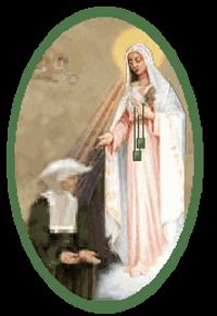 January 28 - Sr. Justine Bisqueyburu and the Green Scapular