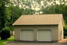 Lowe S 2 Car Garage Kits Car Garage With Attic