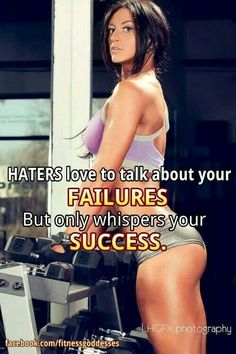 Haters hate...