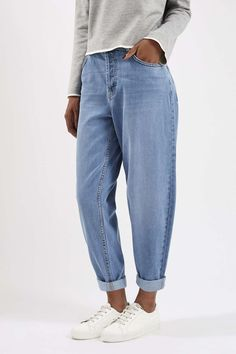 Photo 2 of MOTO Oversized Boyfriend Jeans