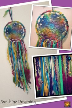 Colourful Dreamcatcher from Sunshine Dreaming :)    https://www.facebook.com/SunshineDreaming