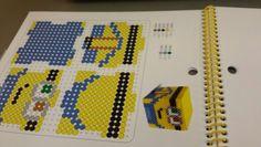 Minion 3D box 4 sides