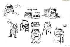 Artworks là-haut up pixar disney pixar-planet. Up Pixar, Disney Pixar Movies, Character Design Disney, Character Design Animation, Anatomy Sketch, Walt Disney, Up 2009, Animation Sketches, Design Comics