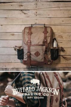 Amazing collection of leather and canvas backpacks and rucksacks. Impressive quality and attention to detail. Made with premium leather or the most durable of canvases, with plenty of room for all your work, sport, or travel products. Fill it with all you need for work or a day's travel. Waxed Canvas Bag, Canvas Bags, Leather Satchel, Leather Backpack, Leather Men, Leather Bags, Canvas Backpacks, Travel Products, Best Gifts For Men