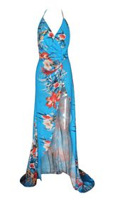 ABI FLORAL GOWN