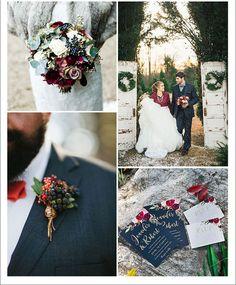 ΧΡΙΣΤΟΥΓΕΝΝΙΑΤΙΚΟΣ ΓΑΜΟΣ ΜΕ ΝΑΥΤΙΚΟ ΜΠΛΕ ΚΑΙ ΚΟΚΚΙΝΟ. Το κόκκινο ήταν και θα είναι πάντα το χρώμα των Χριστουγεννων. Floral Tie
