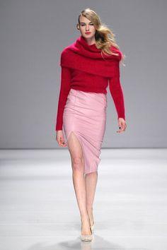 Line Knitwear Ready To Wear Fall Winter 2014 Toronto
