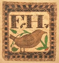Lot: Small Watercolor and Ink Fraktur Drawing., Lot Number: 0281, Starting Bid: $100, Auctioneer: Conestoga Auction Company Division of Hess Auction Group, Auction: ANTIQUE & AMERICANA AUCTION, Date: March 18th, 2017 EDT