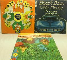 The Beach Boys Vinyl Record Lot of 3 Record Albums - Endless Summer Winter Deuce