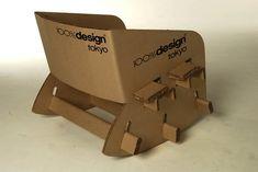 Cardboard Rocking Chair on Furniture Served