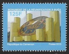 Stamp: Dedication of the Reunification Monument, Buea (Cameroon) Mi:CM 1282