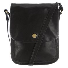 Conkca London Black 'Lucinda' leather small cross-body bag- | Debenhams