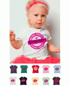 After Party Product Roller Derby Infant Tee $12.99 via Totally Rad Skatewear.