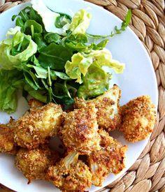 Chou fleur croustillant au parmesan (cuisson au four) – un écureuil dans ma cuisine