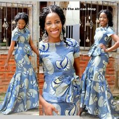 Must have! ~African Prints, African women dresses, African fashion styles, african clothing