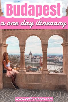 Budapest is the capital of Hungary, located in Eastern Europe. If you share a great love for history and old buildings then Budapest is where you want to be. This one day itinerary will take you to Budapest's most beautiful historical sites. #budapest #hungary