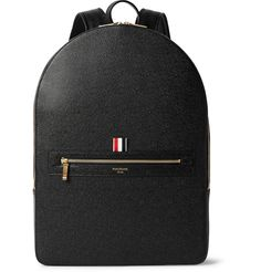 Thom Browne - Pebble-Grain Leather Backpack 2090 EUR / $2390. 45x33x12 cm.
