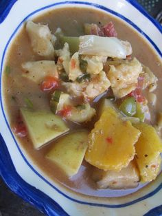 Conch soup is a traditional coastal dish in Belize. Queen conches are those big beautiful snail shells you see photos of in ads for the C. Conch Recipes, Fish Recipes, Seafood Recipes, Soup Recipes, Cooking Recipes, Healthy Recipes, Bread Recipes, Cake Recipes, Gastronomia