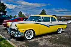 1956 Ford..Re-pin Brought to you by agents at #HouseofInsurance in #EugeneOregon for #CarInsurance