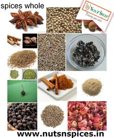 Maximum peoples are like to take spices food because of its taste, So that nuts n spices is the best shop to buy your favorite and tasty spices power.