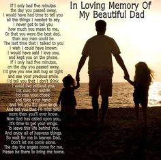 in memory of my dad - Google Search