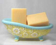Golden Yellow Sunflowers Handmade Artisan Soap Bath Body Skin Care | Gingers-Garden - Bath & Beauty on ArtFire